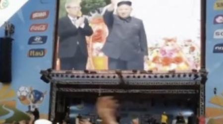 Телевидение КНДР объявило о выходе сборной страны в плей-офф ЧМ-2014