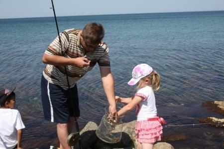 В Актау прошли соревнования по рыбной ловле