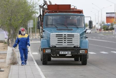 В Актау хотят поднять тарифы на вывоз мусора