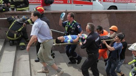 При аварии в московском метро погибли 20 человек