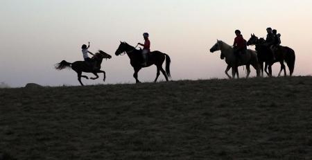 Мангистауские наездники готовятся к юношескому чемпионату РК по кокпару