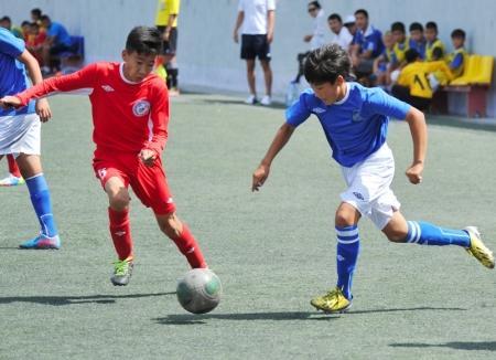 Прошли первые игры III тура Первенства РК по футболу среди юношеских команд