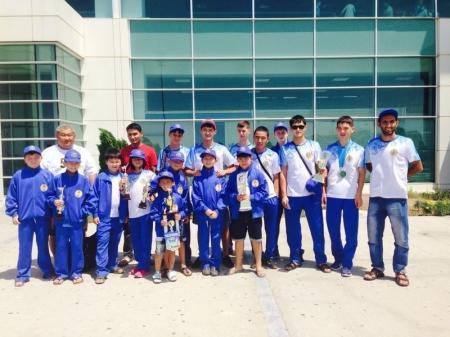 Актауские спортсмены завоевали 14 золотых медалей на чемпионате мира по джун ри таэквондо