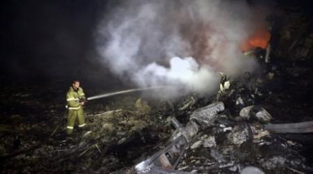 """На борту потерпевшего крушение самолета на Украине находился бывший сотрудник оператора """"Кашаган"""""""