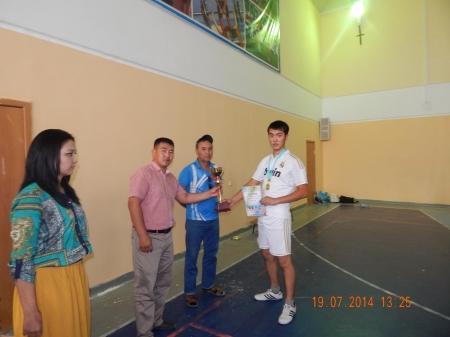 В Мунайлинском районе прошли соревнования по волейболу