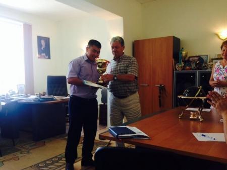 Начальник облспорта поздравил мунайлинцев с первым местом на летних сельских играх