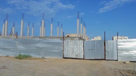 Очередная стройка у самого моря в Актау