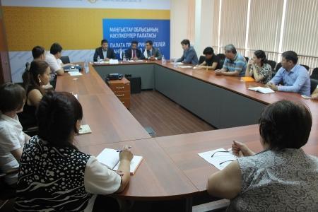 Предприниматели из ОАЭ обсудили возможности сотрудничества с мангистаускими бизнесменами