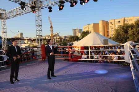 Казахстанские кикбоксеры заняли первое общекомандное место на международном турнире в Актау