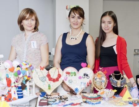В Актау прошла ярмарка «Handmade»