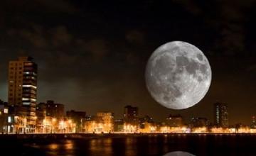 В ночь на 11 августа ночное небо украсит «сверхлуна»