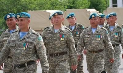 В Казахстане проходит конкурс на лучшего сержанта армии