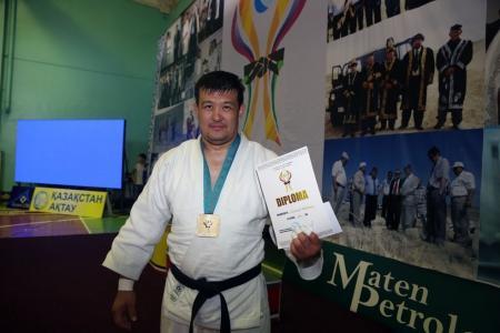 Мангистауские борцы дзюдо заняли третье общекомандное место на турнире памяти Турара Жолдыбаева