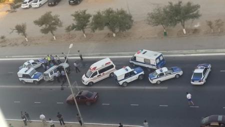 В Актау в результате опрокидывания автомобиля Subaru погиб пассажир