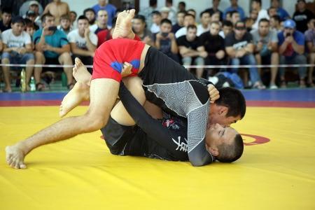 На чемпионате Казахстана по грэпплингу и панкратиону мангистауские спортсмены завоевали более десяти медалей