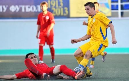 Футбольный клуб «Каспий» взял реванш у «Востока»