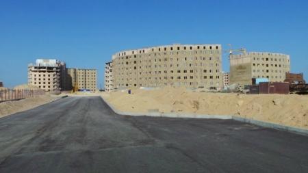Облом с квартирами в микрорайоне АККУ