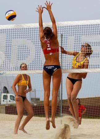 Актауские спортсмены приняли участие в юношеском чемпионате мира по пляжному волейболу в Португалии
