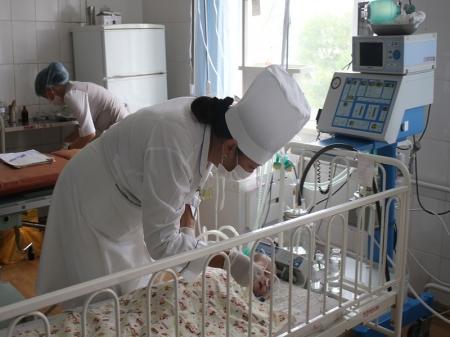 Мангистауская инфекционная больница получила оборудование для реанимации детей