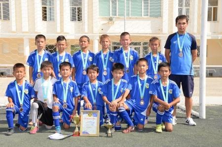 В Актау завершился областной турнир по футболу среди юношеских команд