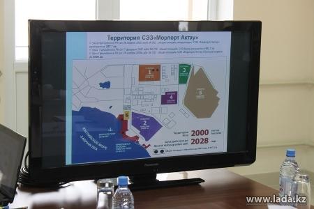 Пять компаний должны покинуть специальную экономическую зону «Морпорт Актау»