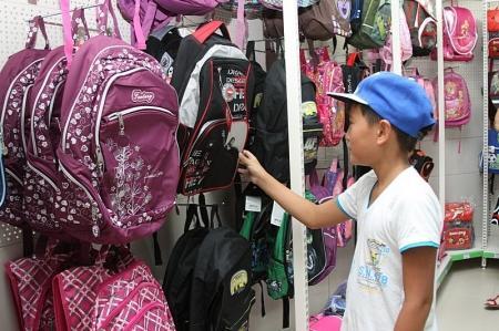 Самый большой ассортимент школьных принадлежностей предлагает жителям Актау гипермаркет «Waterfront»