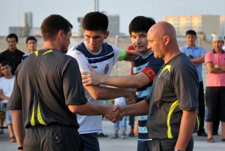 Первая ничья зафиксирована на актауском турнире по мини-футболу среди нефтяников