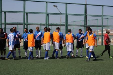 В Актау стартовал международный турнир по мини-футболу среди ветеранов