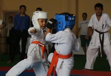В Актау прошел открытый чемпионат области по кекушинкай каратэ