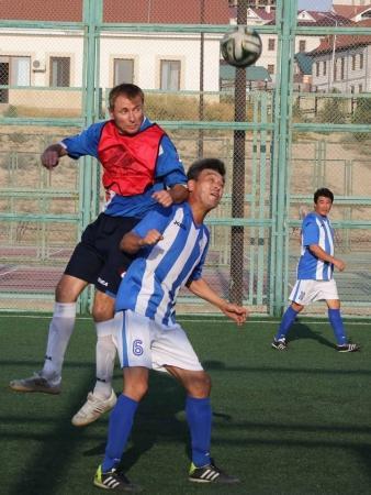 Сербские футболисты заняли первое место в международном турнире в Актау