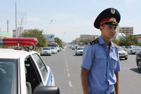 В Актау за три дня выявлено свыше двухсот нарушений ПДД