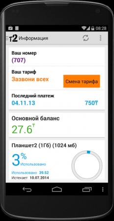 Управляй своими услугами с помощью нового приложения Tele2