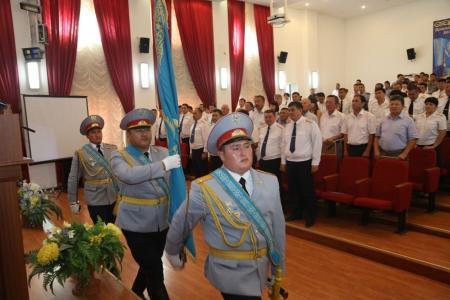 В ДВД Мангистау во время празднования Дня Конституции отметили спецназовцев