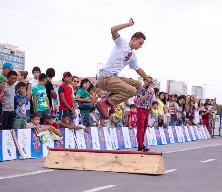 В Актау стартовал второй урбан-фестиваль «Aktau Open Fest»
