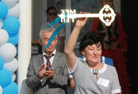 В селе Жынгылды после ремонта открылась школа-интернат