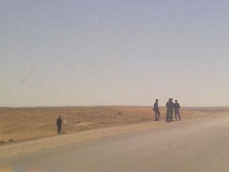 Военные начали поиски контейнера с цезием-137 возле поселка Бейнеу
