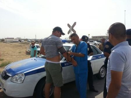 В Актау «Газель» столкнулась с дрезиной (ДОПОЛНЕНО)