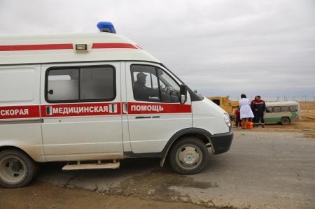 Три человека пострадали в результате дорожной аварии в Мангистау