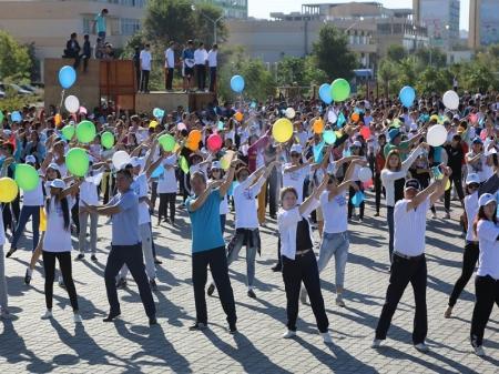Пять тысяч человек собрал фестиваль здоровья в Актау