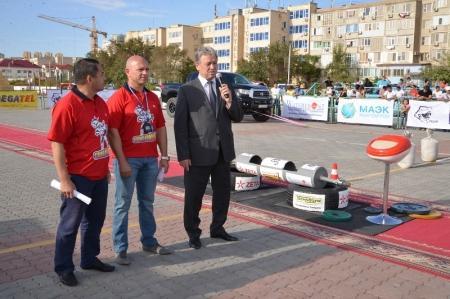 Абсолютным чемпионом соревнований по силовому экстриму в Актау стал астанчанин Роман Кушьялов