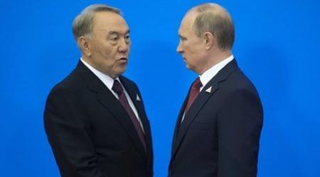 Ситуацию на Украине обсудили Путин и Назарбаев в Душанбе