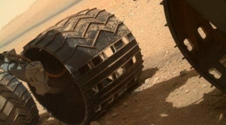 Марсоход Curiosity достиг главной цели своего путешествия