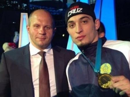 Мурад Абдурахманов из Актау стал чемпионом мира по MMA