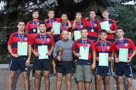 Актауские регбисты заняли второе место по итогам 3 тура чемпионата Казахстана