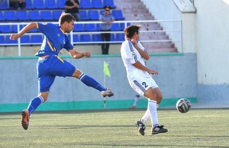 Футбольный клуб «Каспий» лишил шымкентский «Кыран» первого места