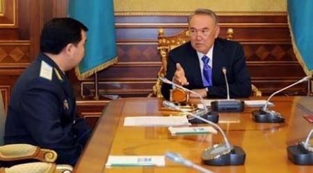 Даулбаев сообщил Президенту РК о стопроцентной регистрации всех преступлений