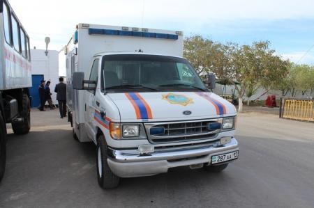 В Актау стартовали учения спасателей, специализирующихся на ликвидации аварий на нефтяных и газовых скважинах