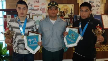 Военнослужащие из Актау заняли призовые места на республиканских соревнованиях  по рукопашному бою