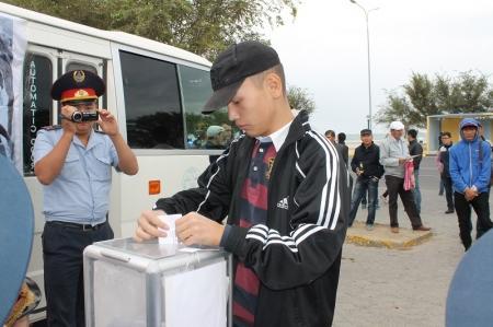 Очередная акция «Приемная на дороге» прошла в Актау