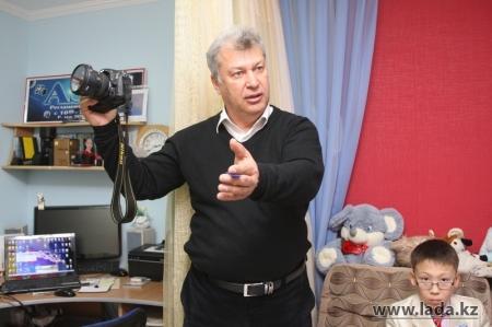 Житель Актау сделал видеоролик к Дню города